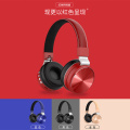 Stereo sound overhead phones bluetooth headphone neckband