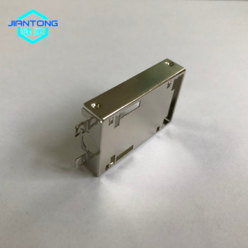 custom small sheet metal stainless steel stamping enclosure