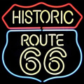 ROUTE 66 LED NEON SIGN