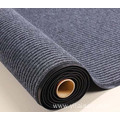 ribbed carpet door mat red velour non woven