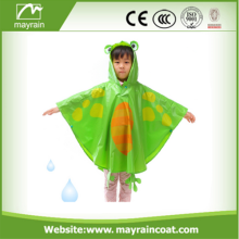 High Quality Colorful Fashion Kids Rain Poncho