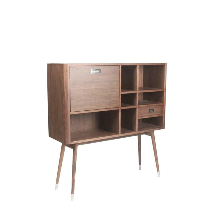 Elory modern retro upright credenza sideboard