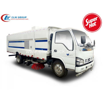 2019 New ISUZU 8cbm sweeper vacuum road truck