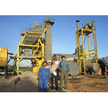 YRD105 Mobile asphalt mixing plants