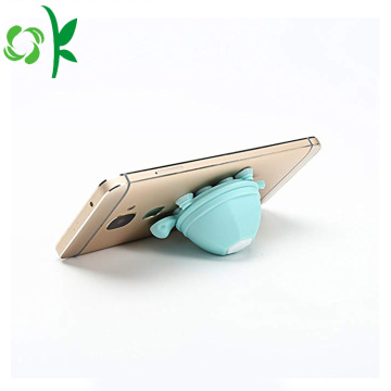 Cute Tortoise Silicone phone Holder Headphone Winder