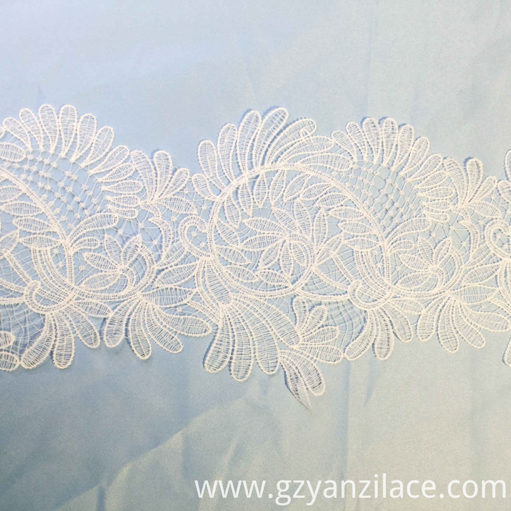 Vintage Flower Wedding Lace Trim Ribbon