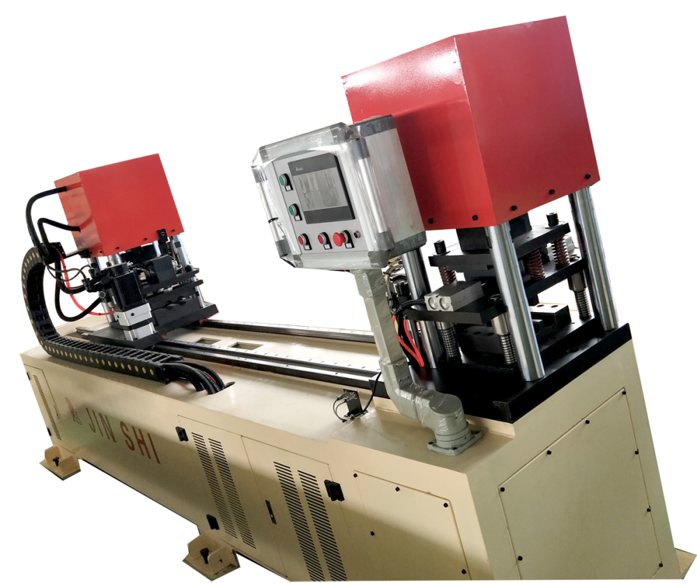 Precision work cross brace automatic punching machine