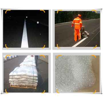 Road Marking Reflective Coated Glass Beads