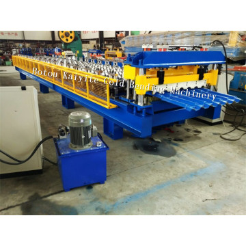Bamboo Style Roof Sheet Roll Forming Machine