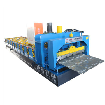 New design corrugated glazed tile forming machine
