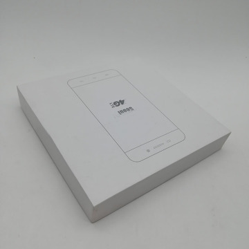 White Paper Mobile Phone Lid Off Box