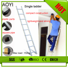 4m single straight ladder