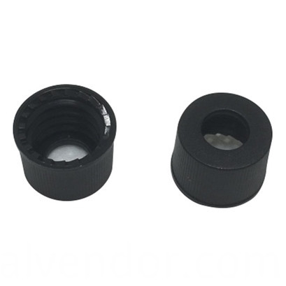 Black Cap for HPLC Vial