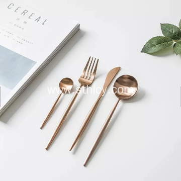 Copper Metal Stainless Steel Cutlery