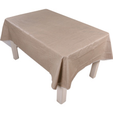 Tablecloth PE with Needle-punched Cotton Classic Grey