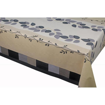 Elegant Tablecloth with Non woven backing 108 Inches
