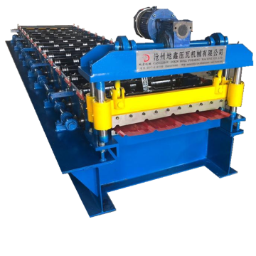 Trapezoidal Sheet Roofing Wall Cold Roll Forming Machine