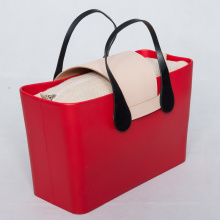 Best Price on for EVA Beach Bag Custom O Bag Italy With Canvas Inner Bags export to Poland Factories