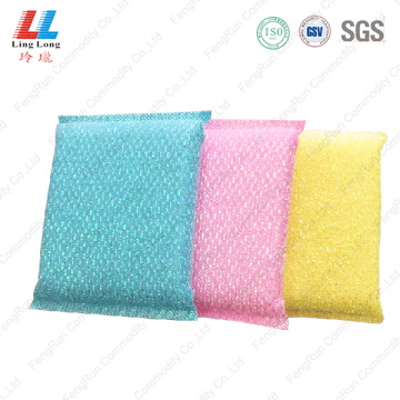 Multipurpose conducive silver kitchen sponge