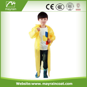 Child PE Raincoat for Promotion