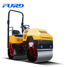 1 Ton Ride On Mini Tandem Vibratory Roller