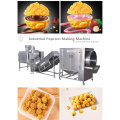 Core filled popcorn making machine with new technology