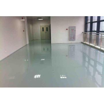 Epoxy self-leveling workshop floor paint