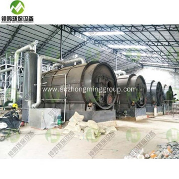 Diesel Oil Extraction from Used Tyres