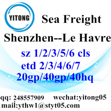 Shenzhen Sea Freight Shipping Agent to Le Havre