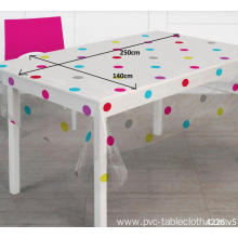 Pvc Printed fitted table covers Foot Round Tables