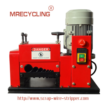 electric tanso wire stripping machine