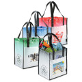 Laminated tote shopping bags