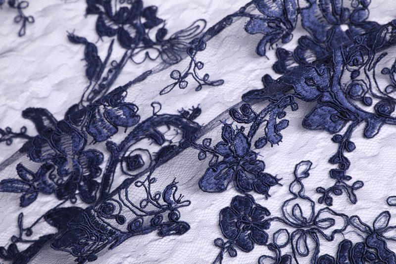 Cord Embroidery For Woman Dress
