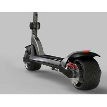 Powerful widewheel city scooter