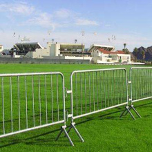 Galvanized Temporary Portable Pedestrian Barriers