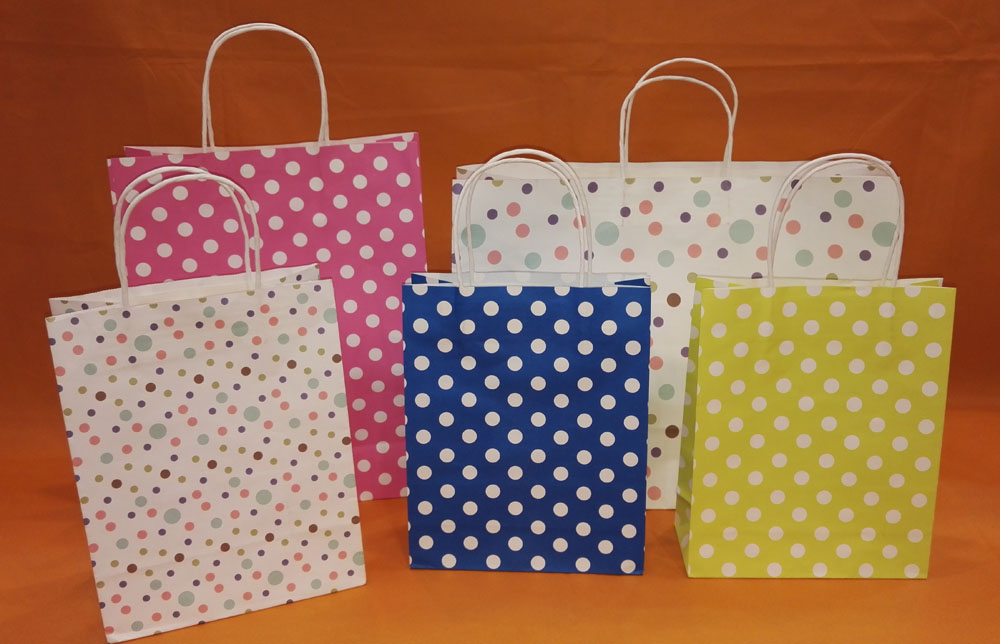 gift paper bag white kraft