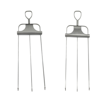 Stainless Steel BBQ Skewers Lock and Slide