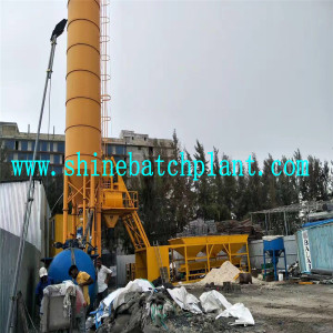 Foundation Free Concrete Batching Plant for Sale