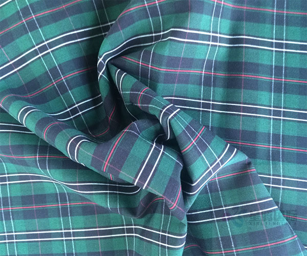 100% cotton Yarn Dyed Plain Woven Fabric1