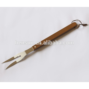Barbecue Tools Wooden Handle BBQ Fork