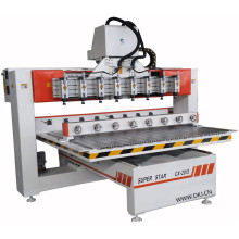 cnc wood turning rotary lathe machine