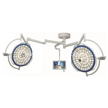 Double Dome Ceiling OT Light With Camera System & Wall Controller