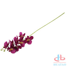 Real touch silk artificial orchid garland flower