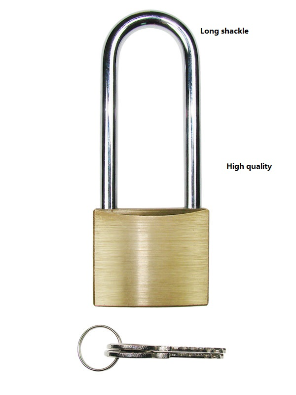 40mm Heavy Duty Cast Iron Padlock Outdoor Safety Security Shackle With 2 Keys