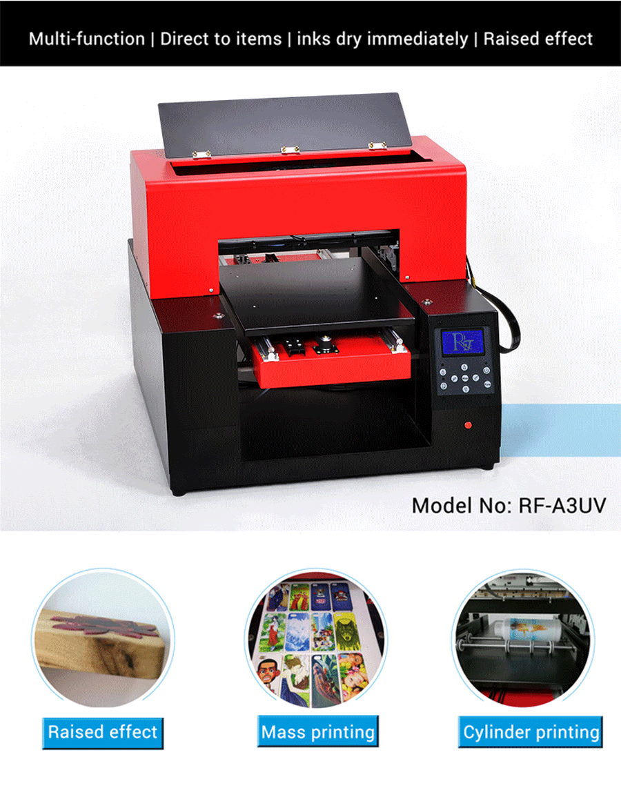 Uv Flatbed Printer Small Format