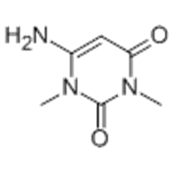 2,4(1H,3H)-Pyrimidinedione,6-amino-1,3-dimethyl- CAS 6642-31-5