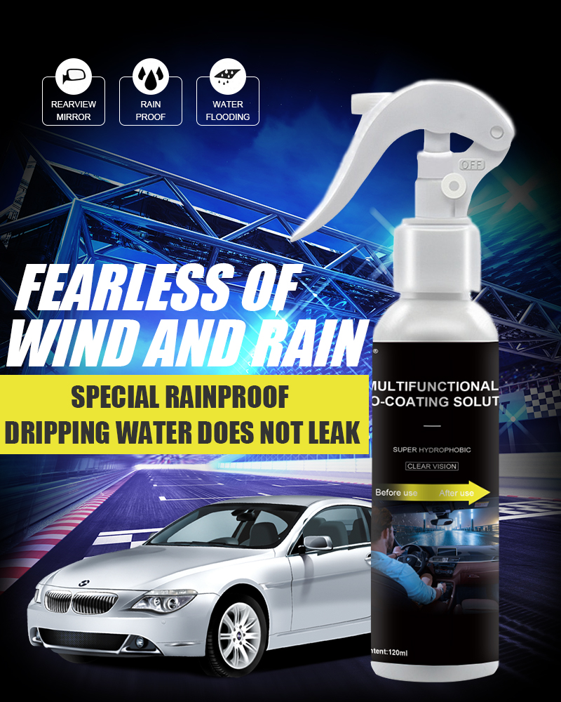 Hydrophobic Coating Rainproof