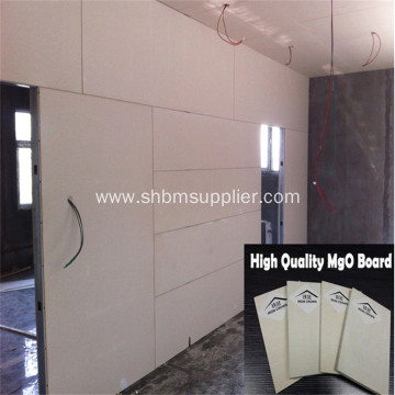 Interior Partiton Wall Panel Fire-resistant 10mm MgO Board