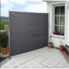 Retractable Side Awning Patio Cover Grey Sunshade 300*200CM