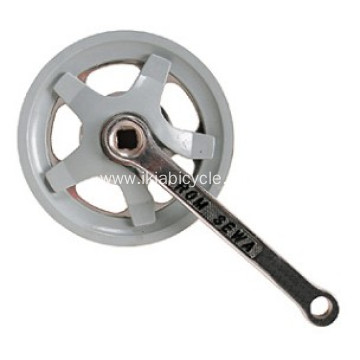 Titanium Bicycle Crank and Chainwheel